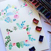 Дизайн и реклама ручной работы. Ярмарка Мастеров - ручная работа разработка персональных логотипов, визиток,открыток. Handmade.