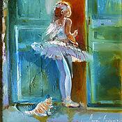 Картины и панно handmade. Livemaster - original item Dream dance - painting on canvas. Handmade.