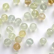 handmade. Livemaster - original item Beads: faceted prehnite ball. Handmade.