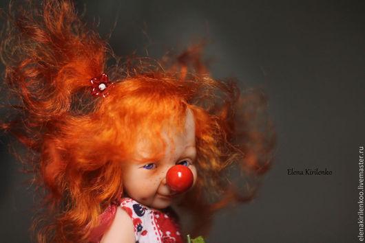 """Коллекционные куклы ручной работы. Ярмарка Мастеров - ручная работа. Купить """"Муся"""". Handmade. Рыжий"""