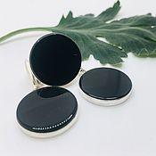 Украшения handmade. Livemaster - original item Set with black agate.. Handmade.