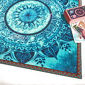 handmade. Livemaster - original item Table cloth for divination 52h52 cm.