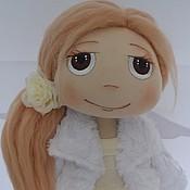 """Куклы и игрушки ручной работы. Ярмарка Мастеров - ручная работа Текстильная кукла """"Маленький ангел"""". Handmade."""
