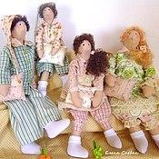 Куклы и игрушки ручной работы. Ярмарка Мастеров - ручная работа Семья сплюшек. Handmade.
