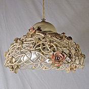 Для дома и интерьера handmade. Livemaster - original item Transparency - large ceiling lamp in the boudoir style. Handmade.