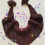 Аксессуары ручной работы. Ярмарка Мастеров - ручная работа Бактус Шоколад. Handmade.