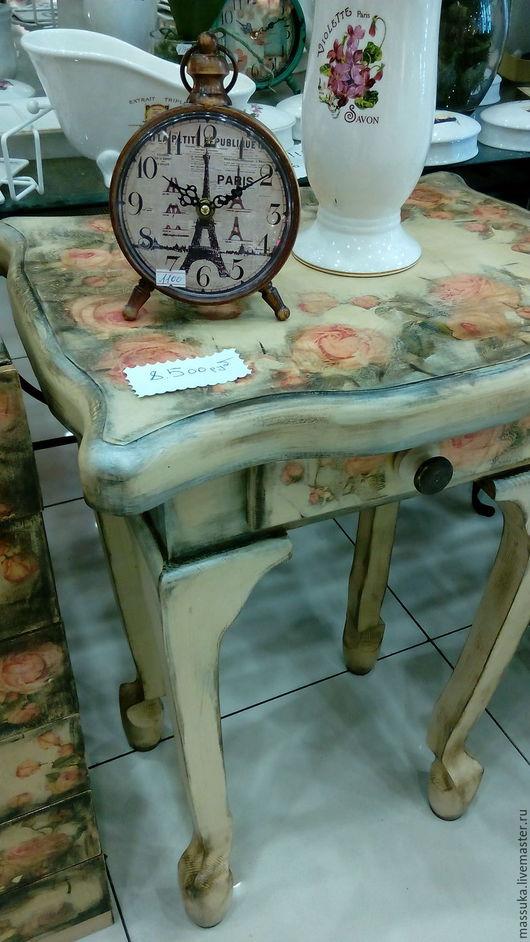 Мебель ручной работы. Ярмарка Мастеров - ручная работа. Купить Столик  Продано. Handmade. Бежевый, подарок подруге, мебель на заказ