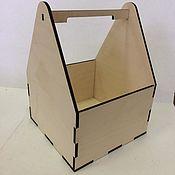 Ящики ручной работы. Ярмарка Мастеров - ручная работа Ящик-кашпо. Handmade.