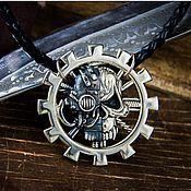 Украшения handmade. Livemaster - original item Medallion Clergy Of Mars. Warhammer 40,000 brass Nickel silver. Handmade.