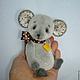 Мишки Тедди ручной работы. Ярмарка Мастеров - ручная работа. Купить Тедди МыШарик.. Handmade. Тедди, мышка, мыши