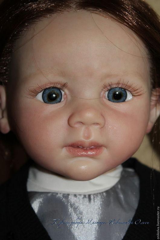 Куклы-младенцы и reborn ручной работы. Ярмарка Мастеров - ручная работа. Купить Валерия. Handmade. Фиолетовый, силикон-винил