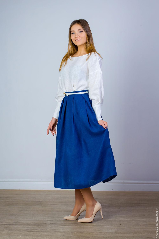 f5761bc676 Skirts handmade. Livemaster - handmade. Buy Skirt linen