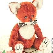 Куклы и игрушки ручной работы. Ярмарка Мастеров - ручная работа Тедди Лис Леон. Handmade.
