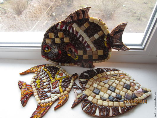 """Подвески ручной работы. Ярмарка Мастеров - ручная работа. Купить Коллекция """"Мечта рыбака"""". Handmade. Рыбки, подарок на любой случай"""