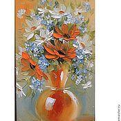 Картины и панно handmade. Livemaster - original item flowers in a vase. Handmade.