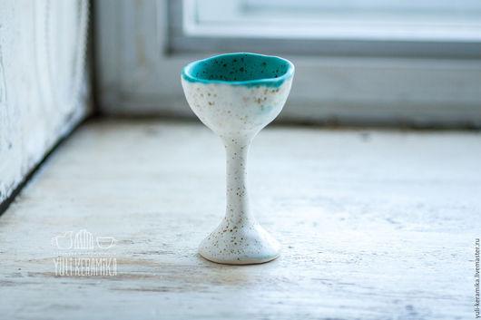 Бокалы, стаканы ручной работы. Ярмарка Мастеров - ручная работа. Купить Керамический бокал. Серия Simplicity. Handmade. Керамика, синий