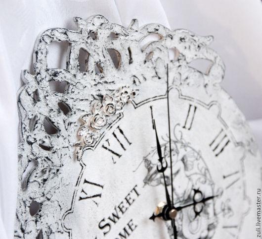 """Часы для дома ручной работы. Ярмарка Мастеров - ручная работа. Купить Часы настенные """"Милый дом"""". Handmade. Часы"""