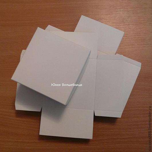 оригинальная упаковка - заготовки белых коробочек