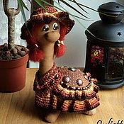 """Куклы и игрушки ручной работы. Ярмарка Мастеров - ручная работа Кофейная черепашка """"Злата"""". Handmade."""