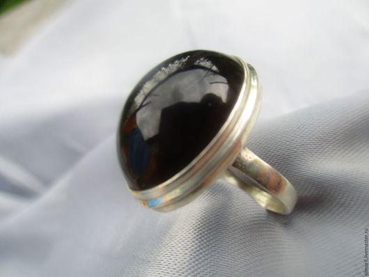 кольцо `Черный ангел`цена 2000 морион,серебро