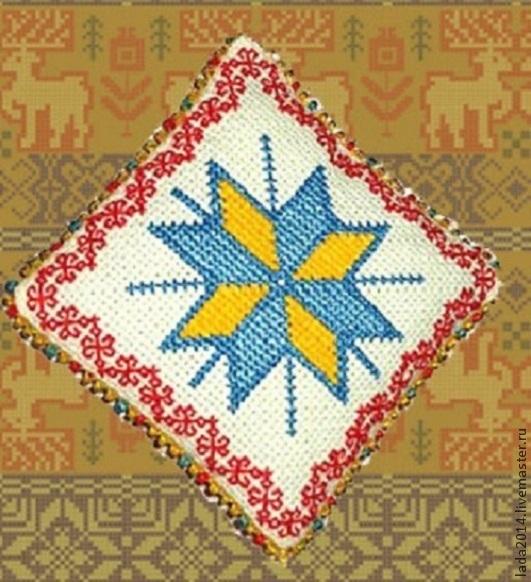 Славянския символ Алатир в народната бродерия