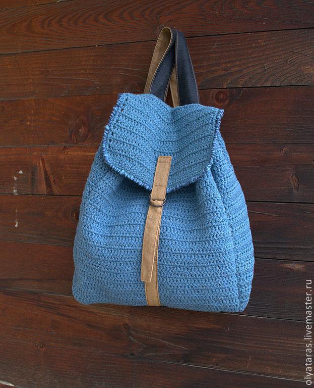 Вязать крючком рюкзаки гламурные рюкзаки