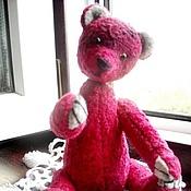 Куклы и игрушки ручной работы. Ярмарка Мастеров - ручная работа Авторская игрушка мишка - тедди  Брусничка. Handmade.