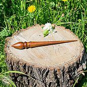 Материалы для творчества handmade. Livemaster - original item Spindles are Great for spinning from Cedar Wooden spindle #B15. Handmade.