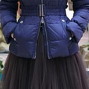 Одежда ручной работы. Ярмарка Мастеров - ручная работа Юбка из фатина длиной до колен. Handmade.