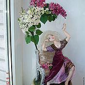 Цветы и флористика ручной работы. Ярмарка Мастеров - ручная работа Ида, фея сирени. Handmade.