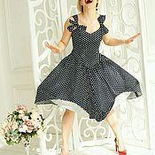 Одежда handmade. Livemaster - original item Sundress in retro style