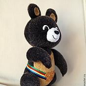 Куклы и игрушки ручной работы. Ярмарка Мастеров - ручная работа Олимпийский Мишка, Олимпиада 1980. Handmade.