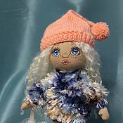 Куклы и игрушки ручной работы. Ярмарка Мастеров - ручная работа Малышка текстильная с печеньками. Handmade.
