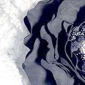 """Украшения ручной работы. Ярмарка Мастеров - ручная работа Брошь-заколка """"Багира"""". Handmade."""