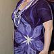 """Платья ручной работы. Заказать двухстороннее платье """" Две лилии"""". Виктория (ROMAnceVIKA). Ярмарка Мастеров. Подарок подруге"""