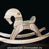Куклы и игрушки ручной работы. Ярмарка Мастеров - ручная работа Лошадка качалка из массива дуба. Handmade.