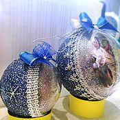Подарки к праздникам ручной работы. Ярмарка Мастеров - ручная работа шар с фото. Handmade.
