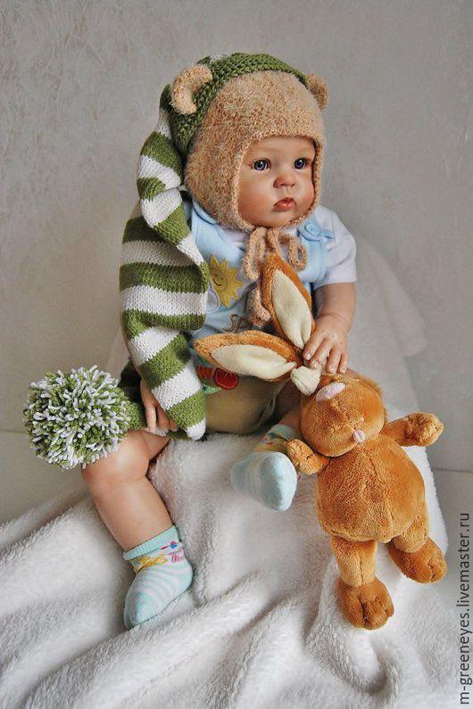 """Для новорожденных, ручной работы. Ярмарка Мастеров - ручная работа. Купить Шапка-колпак """"Лесной Мимимишка"""". Handmade. Мимимишки"""