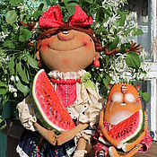 Куклы и игрушки ручной работы. Ярмарка Мастеров - ручная работа Арбузное лето!. Handmade.