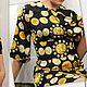 Платья ручной работы. Ярмарка Мастеров - ручная работа. Купить !платье нежный шелк!. Handmade. Черный, ярмарка мастеров