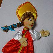 Куклы и игрушки handmade. Livemaster - original item Tsarevna Elena the fair. Glove puppet.. Handmade.