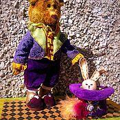 Куклы и игрушки ручной работы. Ярмарка Мастеров - ручная работа тедди_мишка по мотивам мишки Оле Лукойе. Handmade.