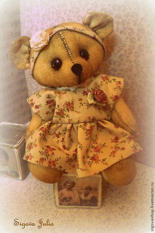 Ароматизированные куклы ручной работы. Ярмарка Мастеров - ручная работа. Купить Малышка Элли. Handmade. Кремовый, прованс, мишка