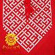 "Order Slavic linen shirt ""Svarozhich"". Atelier ROSICH. Livemaster. . People\\\'s shirts Фото №3"