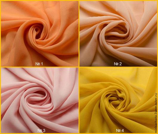 Предлагаем Вашему вниманию новую коллекцию 2016 креповых шелковых тканей итальянского производства. Состав тканей 100% шелк.