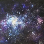 Картины и панно handmade. Livemaster - original item The author`s work painting with pastels - the stars of the cosmos. Handmade.