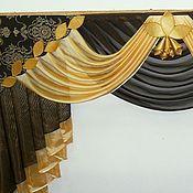 Для дома и интерьера ручной работы. Ярмарка Мастеров - ручная работа шторы на заказ. Handmade.
