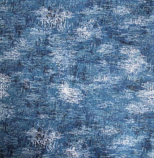 Шитье ручной работы. Ярмарка Мастеров - ручная работа. Купить ГЖЕЛЬ ДЖИНСА, ткань гобеленовая, 160 см шириной. Handmade.