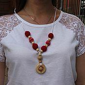 Одежда ручной работы. Ярмарка Мастеров - ручная работа Слингобусы красные. Handmade.