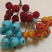Материалы для творчества ручной работы. Ярмарка Мастеров - ручная работа Сахарные ягодки, ягоды в сахаре .. Handmade.